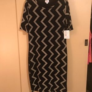 Fitted lularoe dress